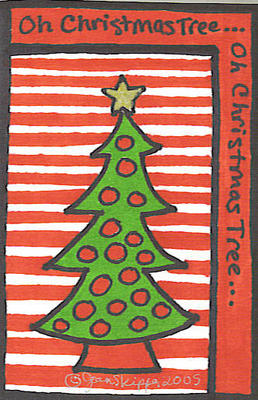 Oh Christmas Tree - Copyrighted by Jean R. Skipper 2005 - 2010