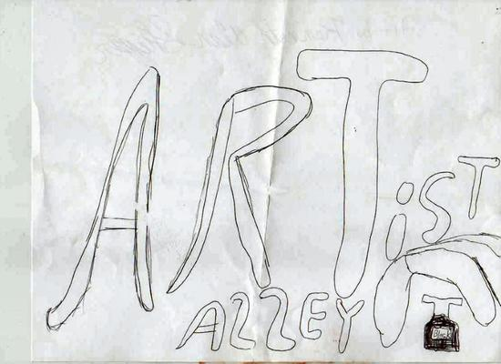 Artist Alley by Alan 2007 - Copyrighted by Jean R. Skipper 2005 - 2010